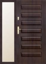 Drzwi wejściowe z naświetlem KMT Plus