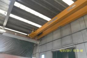 Szt.4 suwnice 16 ton-18,74 i 18,32 m.