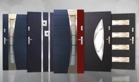 Drzwi wejściowe zewnętrzne