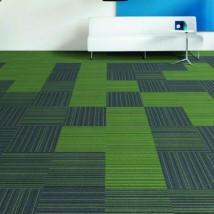 Wykładziny dywanowe w płytkach HUSSAR