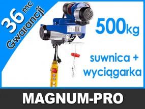 Wyciągarka, wciągarka, elektryczna suwnica, udźwig 500 kg MP6014