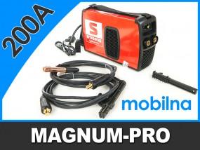 Spawarka MMA 200A MOSFeT mobilna MP2018