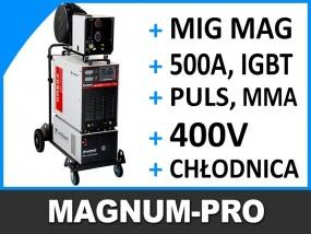 Profesjonalna spawarka Migomat MIG MAG chłodnica MP2074