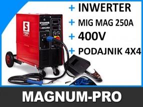 Spawarka półautomat migomat 250A 4x4 MIG MAG MP2021