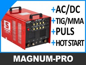 Spawarka TIG AC DC idealna do aluminium MP2094