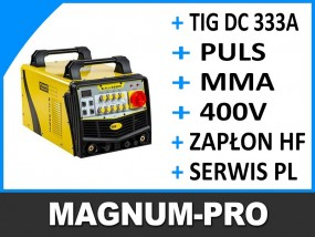 Spawarka do aluminium TIG 333A PULS AC/DC MP2039