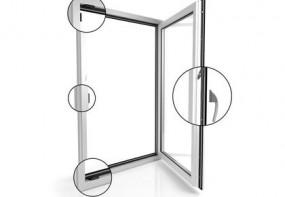 Okna Energooszczędne V82 BLACK DESIGN Okucie ROTO NTS