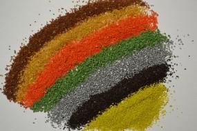 Kruszywo marmurkowe Barwione kruszywo marmurkowe