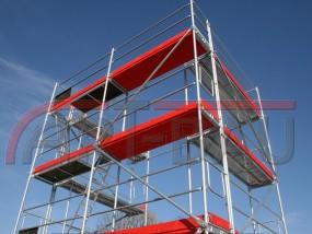 Rusztowania elewacyjne typ Pletac 200 m2