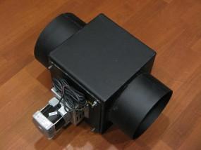 Wentylator wyciągowy spalin z czopuchem SEN80-2/40