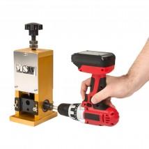 Ręczny odizolowywacz kabli od 1,5 do 25 mm na wiertarkę MP6076