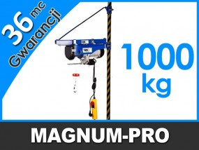Ramię wychylne do wciągarek linowych 1000kg MP6012