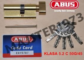 Atestowana wkładka patentowa z gałką KD10 MM Z45/K50 ITB W-BOX klasa bezoieczeństwa 5.2 C