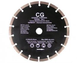 Tarcza diamentowa segmentowa 230 mm
