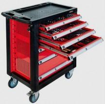 Szafka warsztatowa wózek narzędziowy 217 elementów