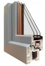 Okno PCV energooszczędne NorskStil