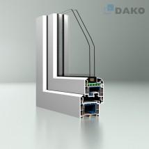 Okna DAKO Brugmann DPB73