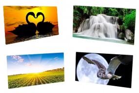 Grzejniki  panelowe ceramiczno-szklane HGlass HGlass 400-800 z termostatem