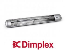 Kwarcowy promiennik podczerwieni Dimpex BY 801S srebrny moc grzewcza 500 W