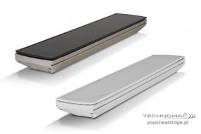 Promiennik podczerwieni Vision dostarczany wraz z akcesoriami do montażu na ścianie lub suficie