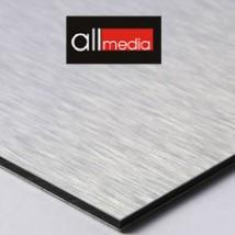 Płyta kompozytowa DIBOND szczotkowany srebrny