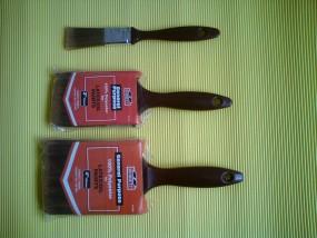Pędzel płaski Seria P1 rozmiary: 25mm, 50mm, 75mm, 100mm