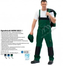 Spodnie ogrodniczki Work 6815
