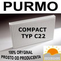 Grzejnik Purmo Compact C22 600x1600 bocznozasilany
