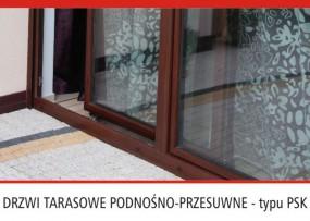 Drzwi tarasowe  podnośno-przesuwne typu PSK