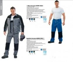 Spodnie do pasa Work 5815