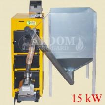 Kocioł na pellet Biomass Uni Comfort 15 kW