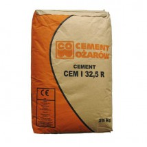 Cement portlandzki Ożarów I i II worek 25kg