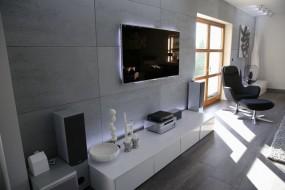 Beton architektoniczny - płyta betonowa Luxum PREMIUM i INDUSTRIAL 120X60X2CM Do szybkiego montażu