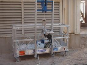 Rusztowania aluminiowe elewacyjne