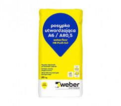 weber.floor HB Plus 6.0 gr posypka utwardzająca do posadzek betonowych