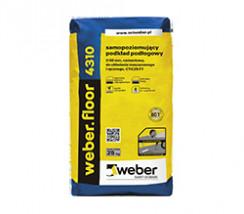 weber.floor 4310 samopoziomujący podkład podłogowy wzmocniony włóknami