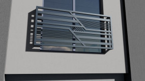 Balustrada balkonowa Galaxy Model 374
